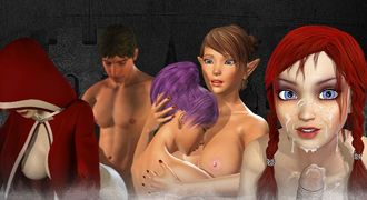 Sensual cartoon games with animated XXX lust