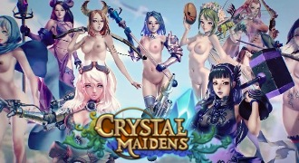 Porn game Crystal Maidens with XXX adventures