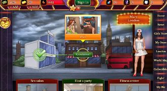 XXX game for mobile with gangsters and mafia sex