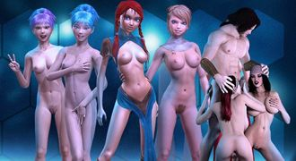 Video XXX games with animated 3D sex and cartoon pornos