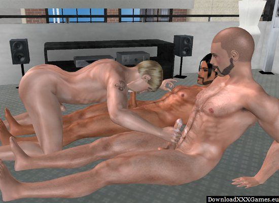 Gay blowjob game