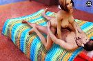 Busty wild chick riding cock like a sexy cowgirl