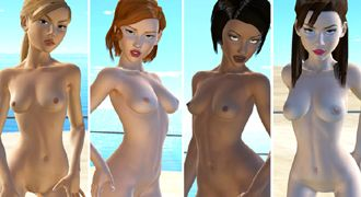 Download 3D XXX game with virtual lesbians and lesbo porn