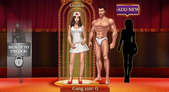 Sexual life or real gangsters in a XXX game