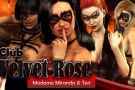 Club velvet rose with masked girls
