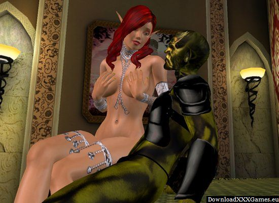 Elf princess porn monster