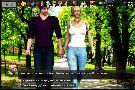 Sexy britney walks with her ex boyfriend in a park