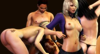 Realistic sexy girls in hottest XXX games