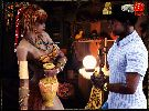 Black guy visits a slutty wife of a jungle tribe chief