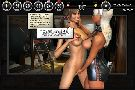 Dominant latex lesbian seduces her naked girlfriend