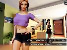 Sex and glory xxx porn game with virtual sex